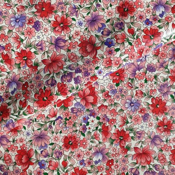 Kunstleder Blumenwiese