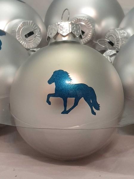 Weihnachtskugel Glas