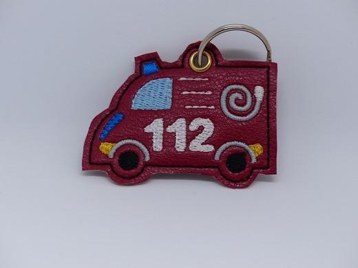 "Schlüsselanhänger ""112"""